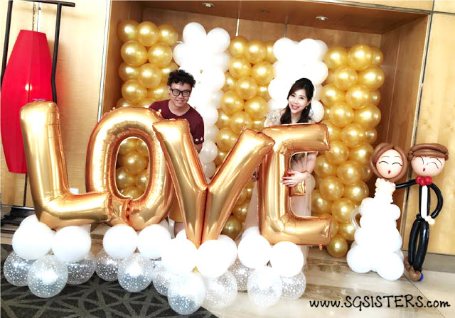 balloon decorations for wedding