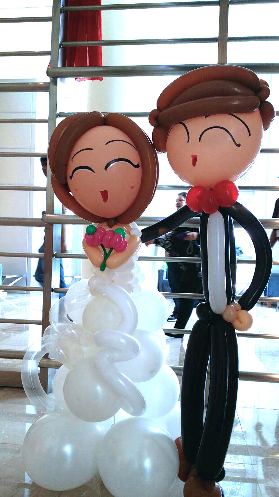 singapore balloon weddings